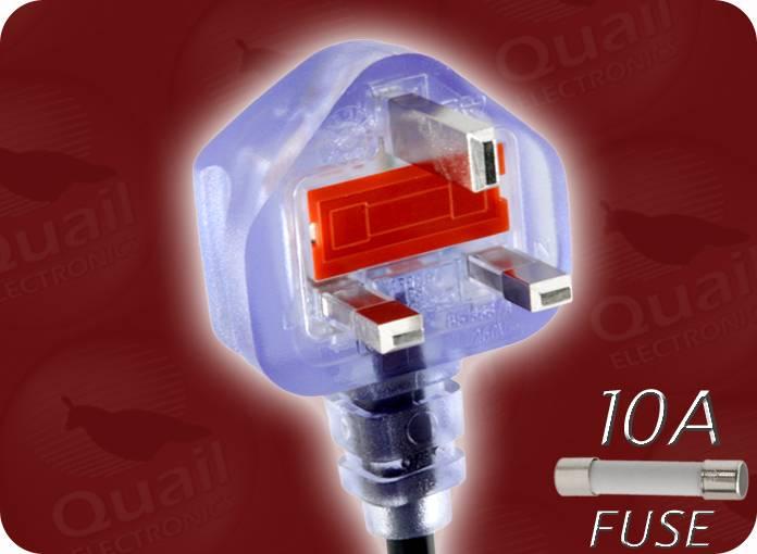 b872b83701 Quail Electronics Inc. ® - - UK Power Cords -